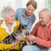 pet friendly senior community mn