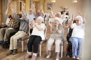 indoor fitness ideas for seniors  sunflower communities